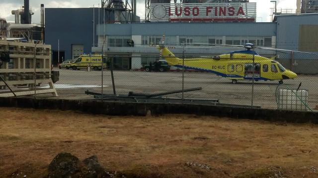 Jovem sofre queimaduras graves em fábrica de Nelas