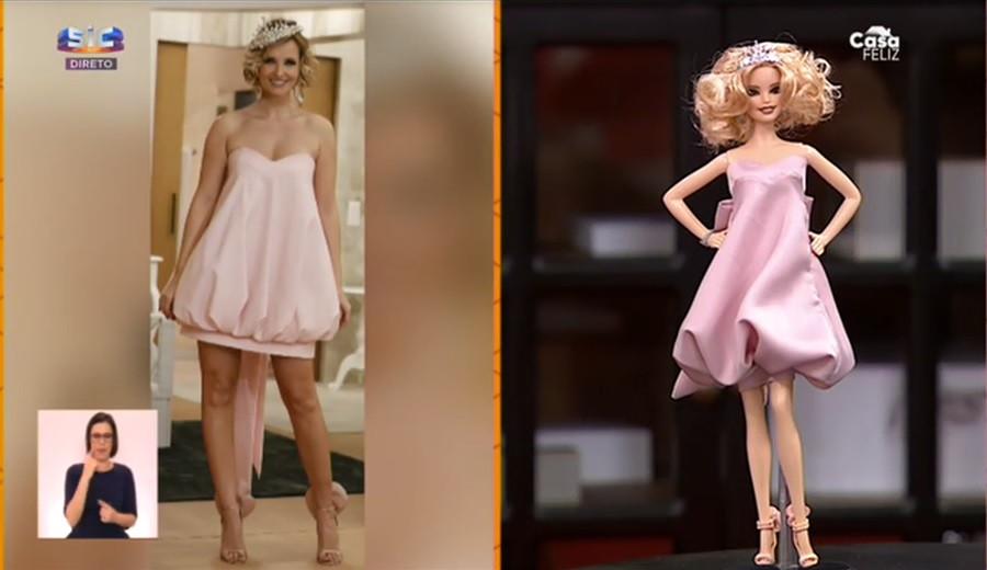 """""""Reconhecem esta boneca?"""" É a Barbie Cristina Ferreira"""