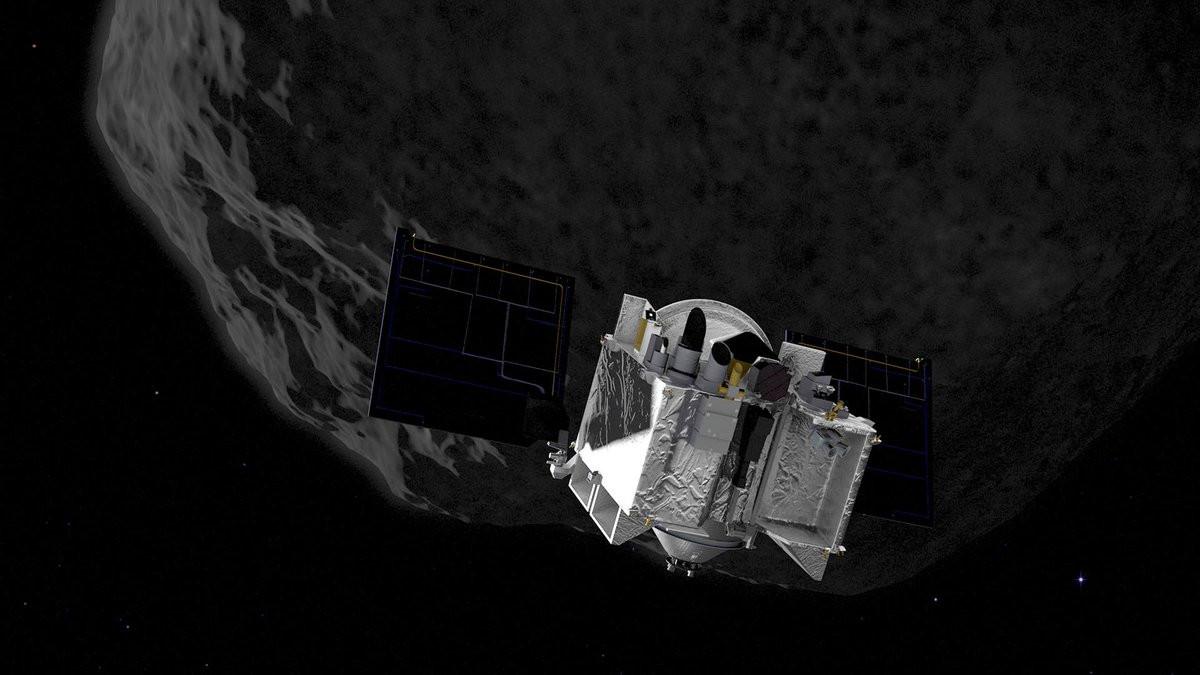 """Asteroide Bennu é """"potencialmente perigoso"""" para a Terra, diz NASA"""