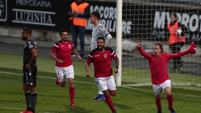 Épico: Penafiel perdia por 4-1 e marcou quatro golos em 15 minutos
