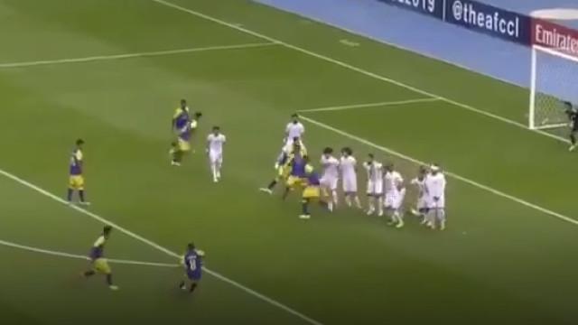 Para Rui Vitória ver: Livre resultou em golo soberbo do Al-Nasr