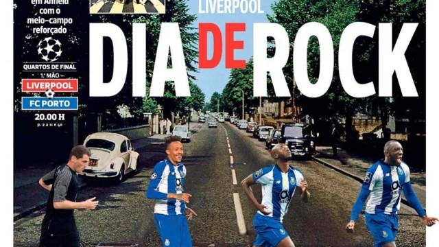 Por cá: Dia de Rock em Liverpool e a dupla saída na Luz