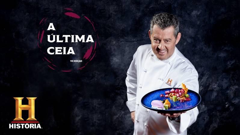 Chef Rui Paula recria o menu da 'Última Ceia' a convite do canal HISTÓRIA