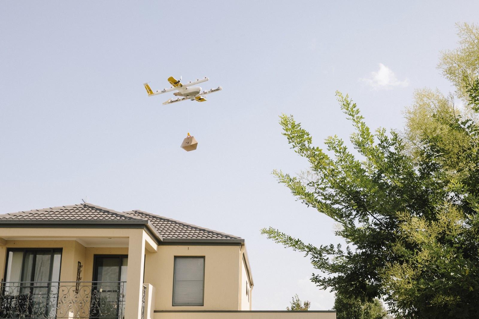 Alphabet começará a fazer entregas com drones na Austrália