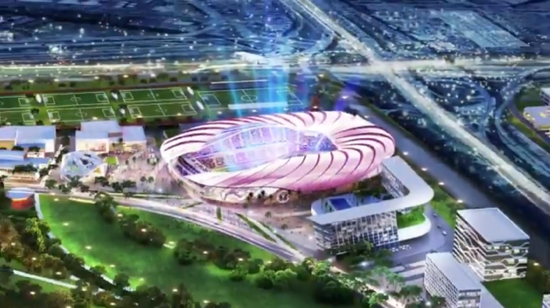 Desfeito o mistério: Inter Miami, de David Beckham, apresenta o estádio