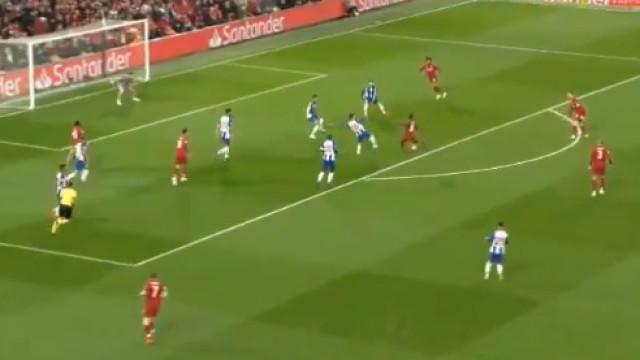 Keita quebrou a resistência portista em Anfield aos 5 minutos