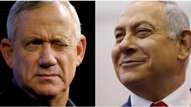 Netanyahu e Gantz proclamam vitória nas eleições israelitas