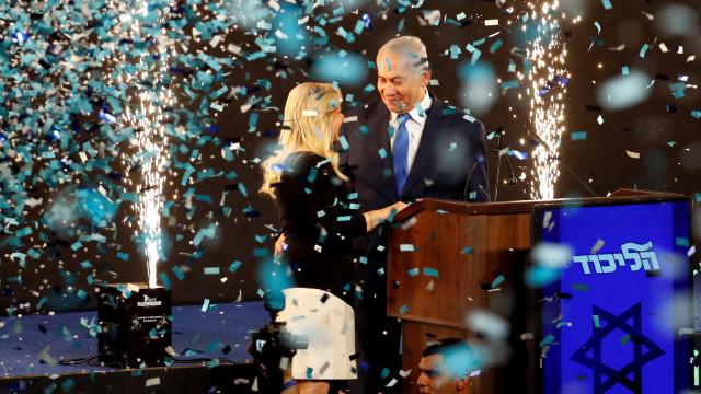 Netanyahu vence eleições em Israel por vantagem mínima