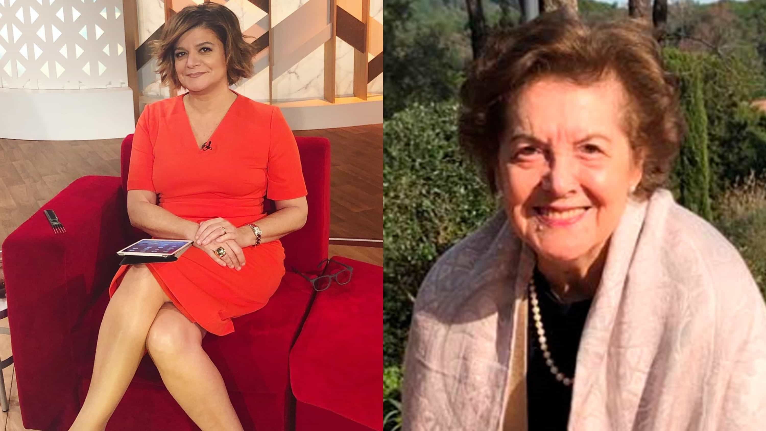 """Mãe de Júlia Pinheiro sofre AVC severo: """"Foi um dia de pesadelo"""""""