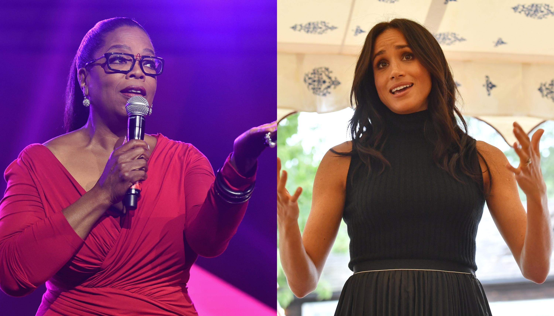 "Oprah Winfrey defende Meghan Markle: ""Retratada de maneira injusta"""