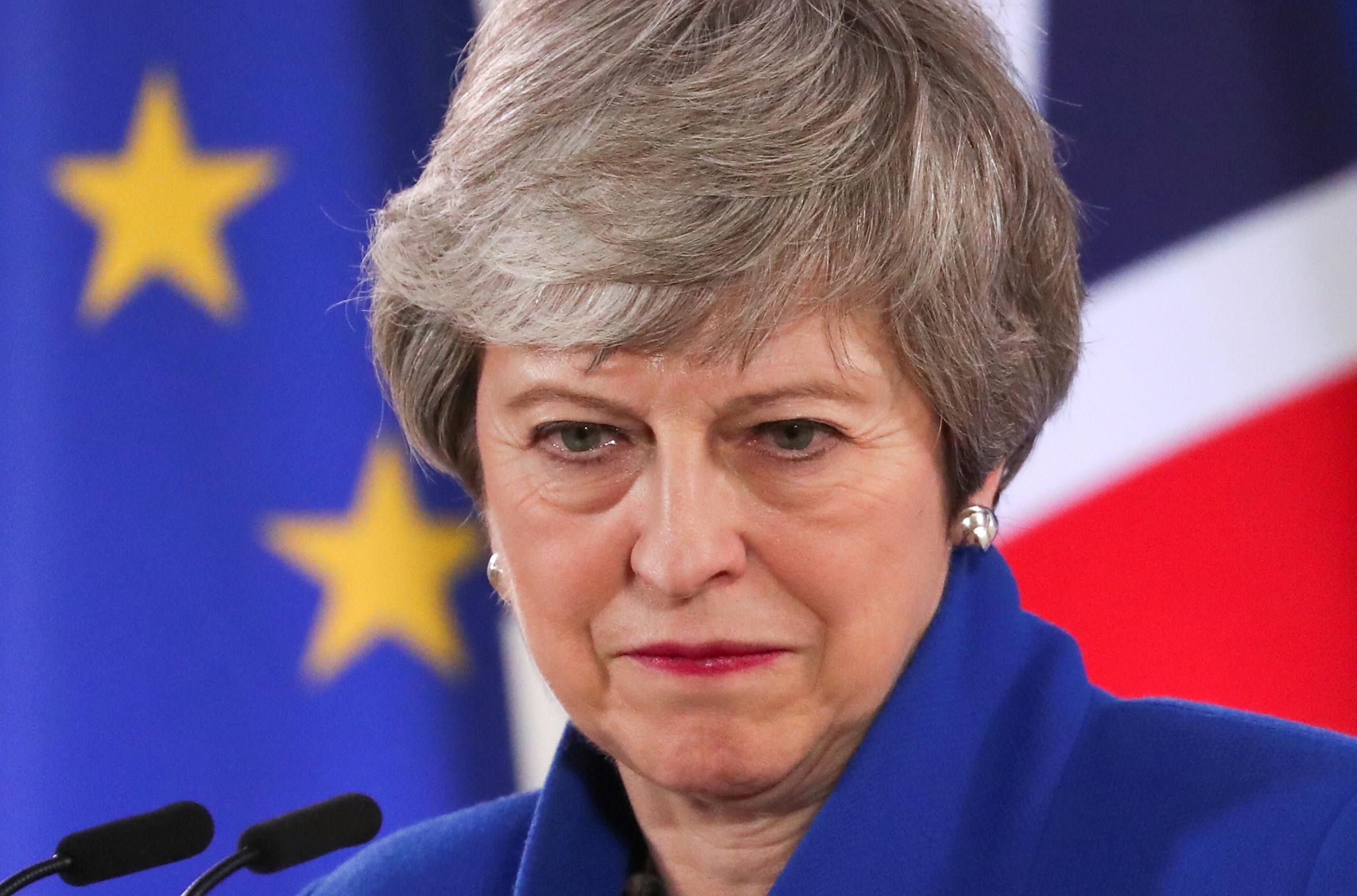 """Temos de acelerar o passo"". Theresa May, a UE e o 'Brexit de Halloween'"