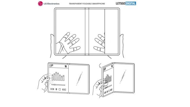 LG planeia lançar smartphone dobrável… com ecrã transparente