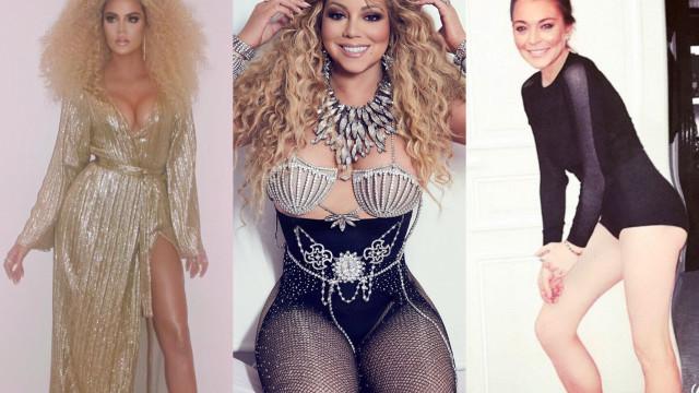 Celebridades que já foram traídas pelo Photoshop. Clã Kardashian 'reina'