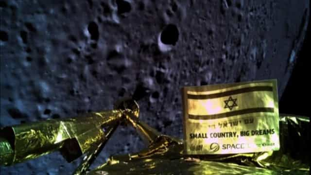 Falhou alunagem de sonda israelita. Aparelho despenhou após avaria
