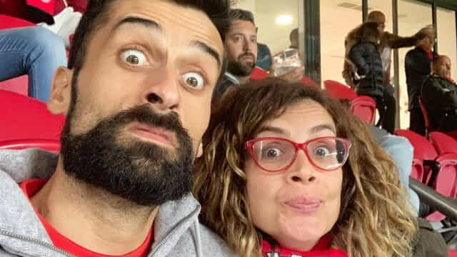 Famosos marcam presença na Luz para apoiar o Benfica