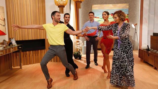 Cristina Ferreira e Cláudio Ramos dançaram 'como se não houvesse amanhã'