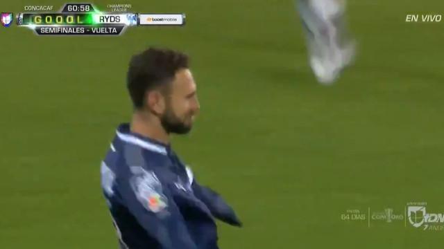 Miguel Layún (lembra-se dele?) marcou este golaço na goleada do Monterrey