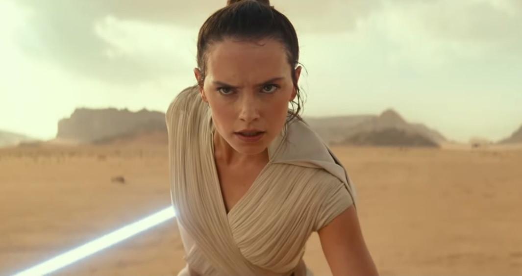 O primeiro teaser do último filme de 'Star Wars'. E um vislumbre de Leia