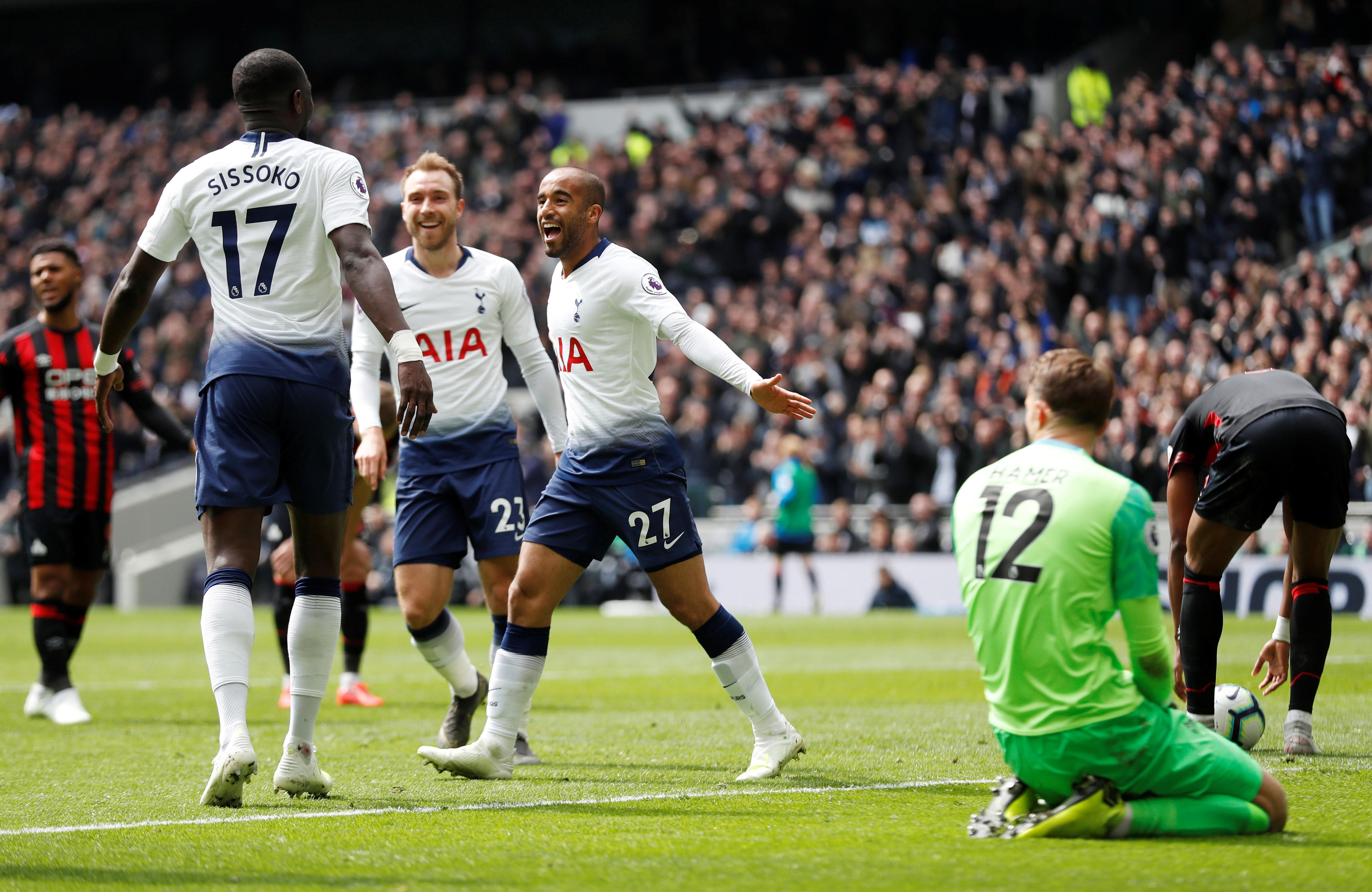 Tottenham tira 'City break' para dar um salto ao pódio