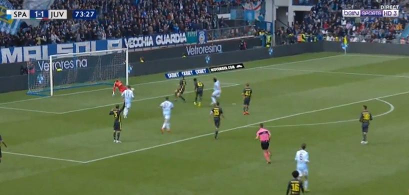 Foi este o golo que adiou a festa do título da Juventus