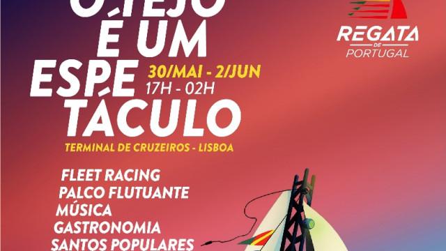 Regata de Portugal invade o Tejo com mega palco flutuante