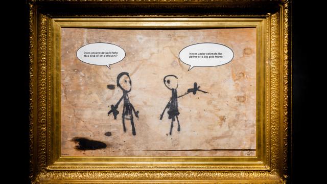 Lisboa recebe a primeira grande exposição de Banksy em Portugal