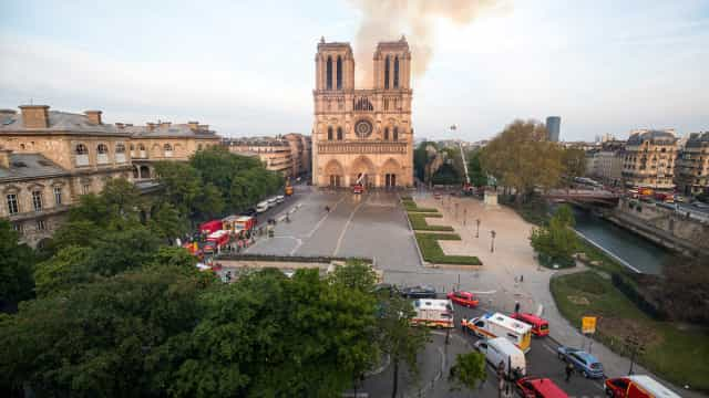 """Notre-Dame, o """"majestoso e sublime edifício"""", escreveu Victor Hugo"""