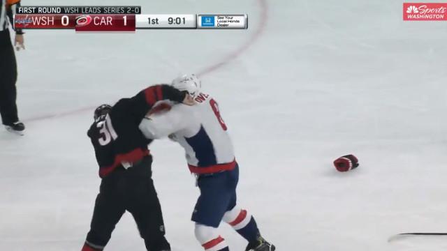 Mais um dia na NHL: Ovechkin deixou adversário KO com três socos
