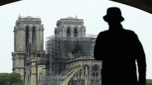 Encontradas beatas em andaimes da Catedral de Notre-Dame