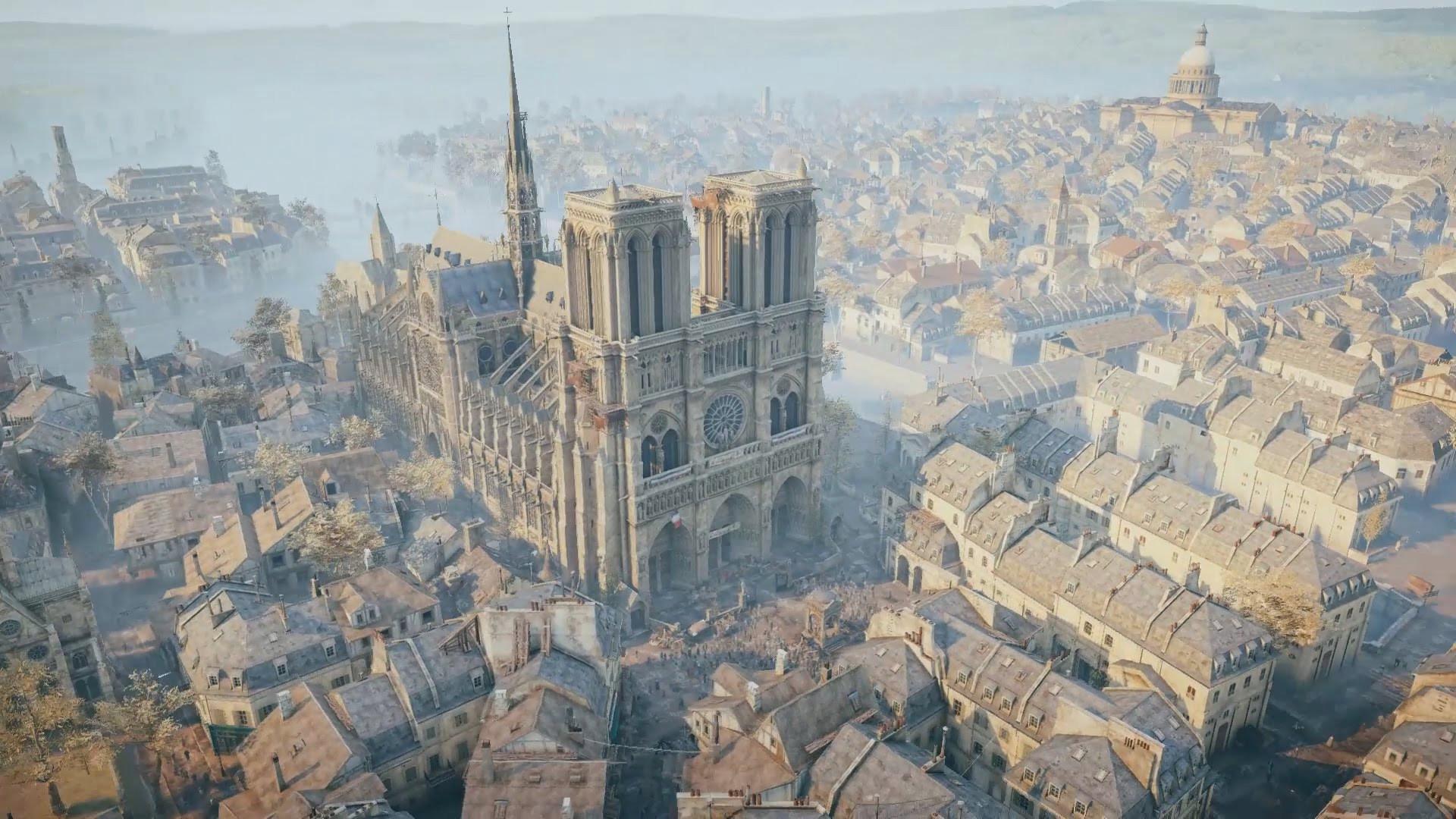 Reconstrução da Notre-Dame pode ter ajuda de… 'Assassin's Creed'