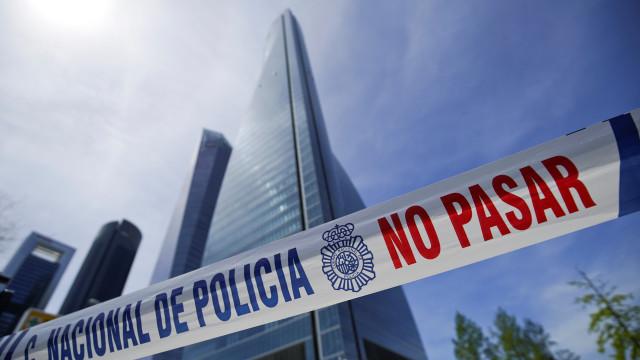 Falsa ameaça de bomba obrigou a evacuar Torre Espacio em Madrid
