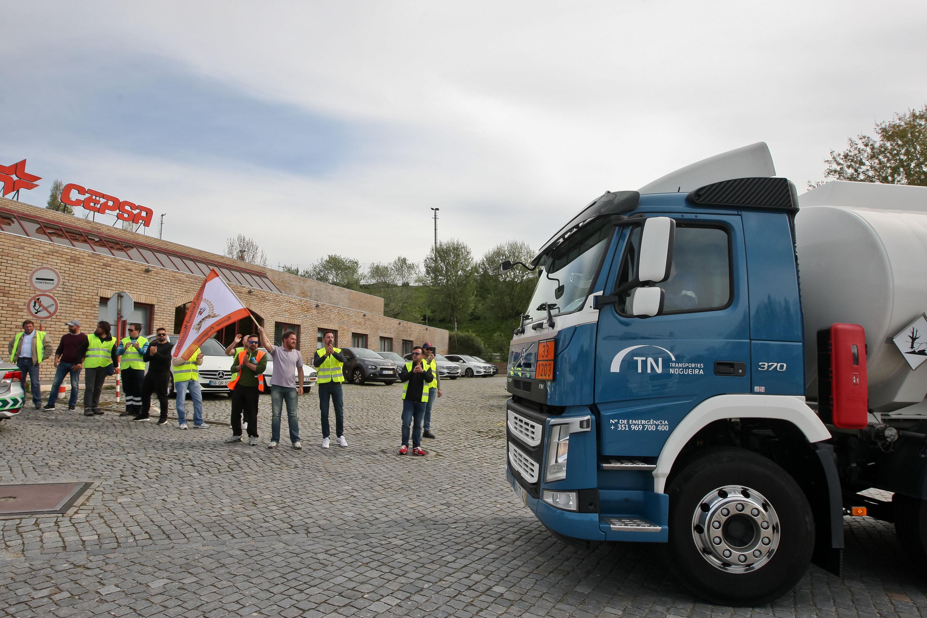 Greve traz à memória bloqueios de camionistas que pararam país