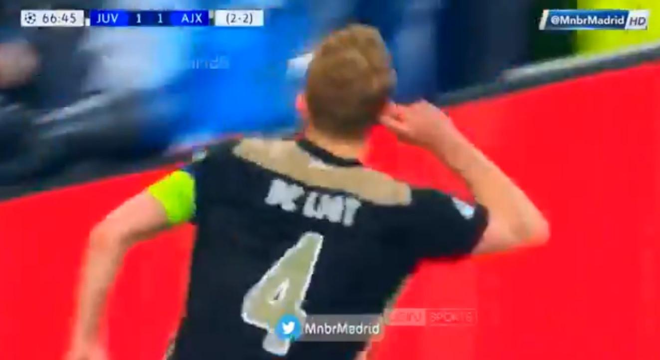Ajax mandou calar Turim assim. A Juve vai ao 'tapete' por De Ligt