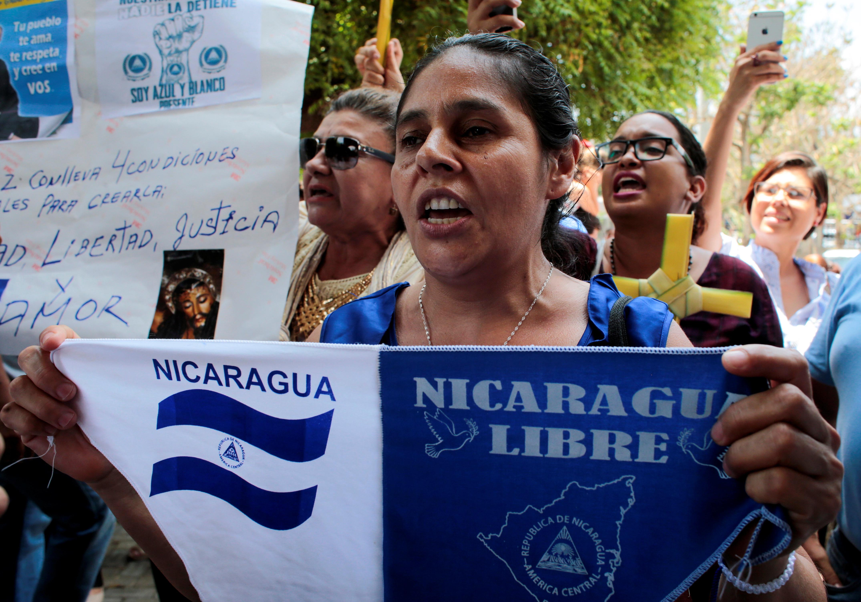 "Governo da Nicarágua libertou 13 ""presos políticos""  entre 636 detidos"