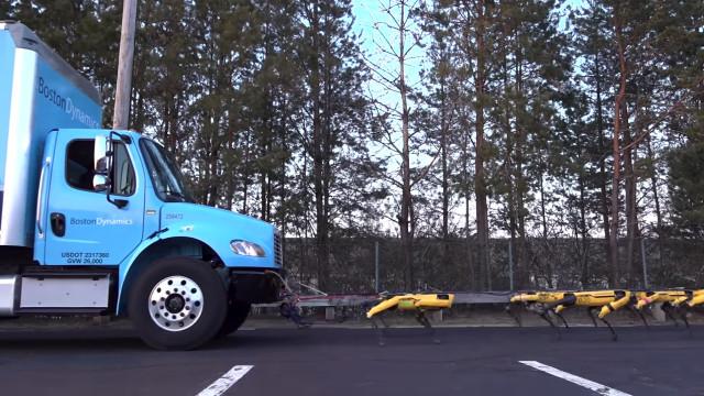 Boston Dynamics partilhou o vídeo mais estranho dos seus robots