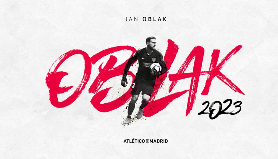 Oficial: Oblak renova contrato até 2023