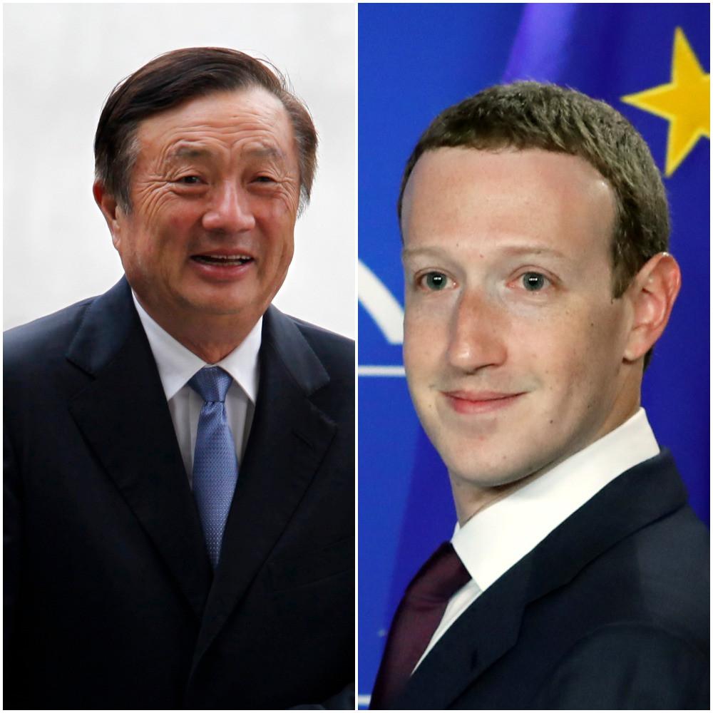 Fundadores da Huawei e Facebook na lista dos mais influentes da Time