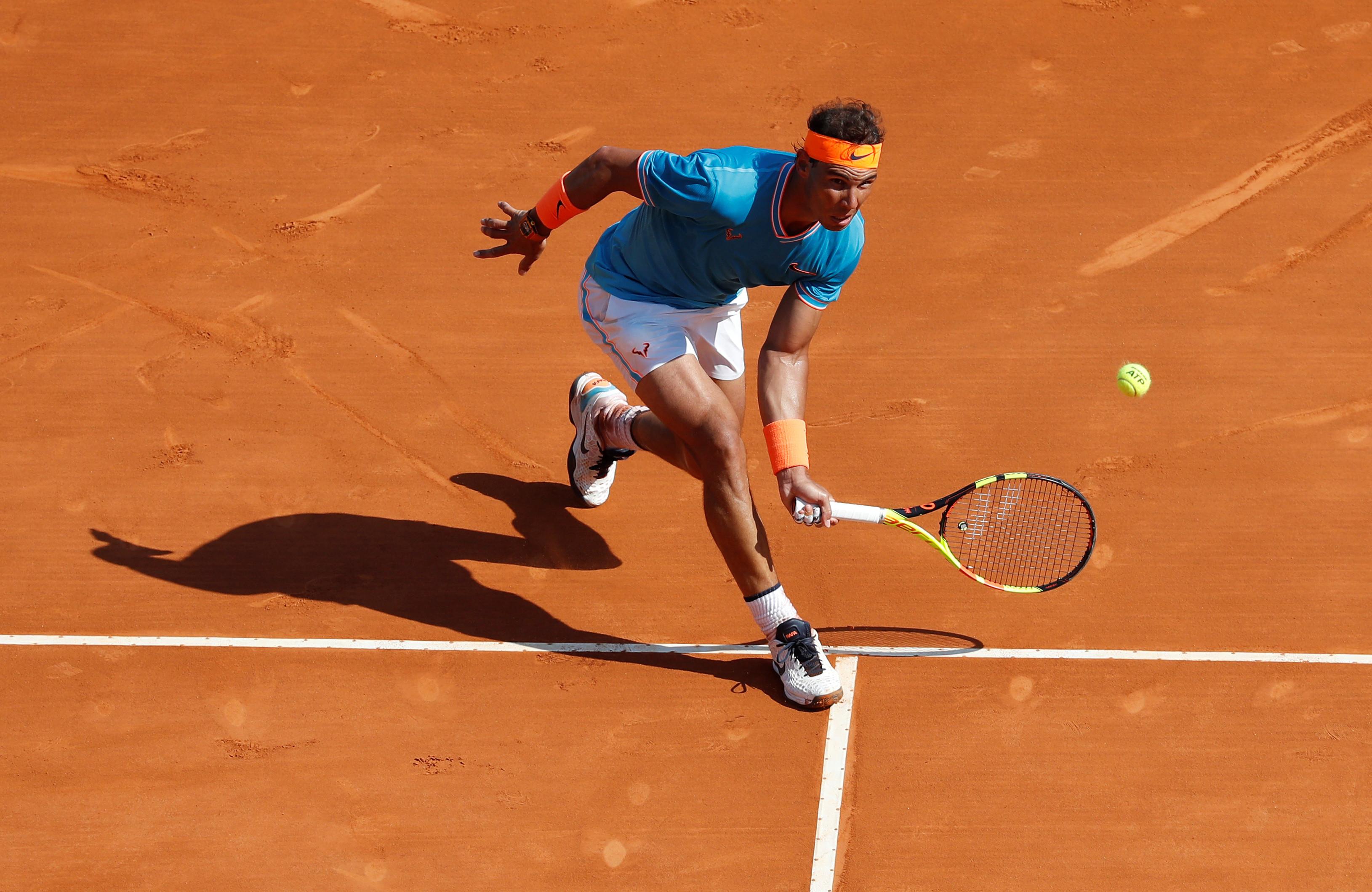 Nadal arrasador na sua estreia no torneio de Monte Carlo