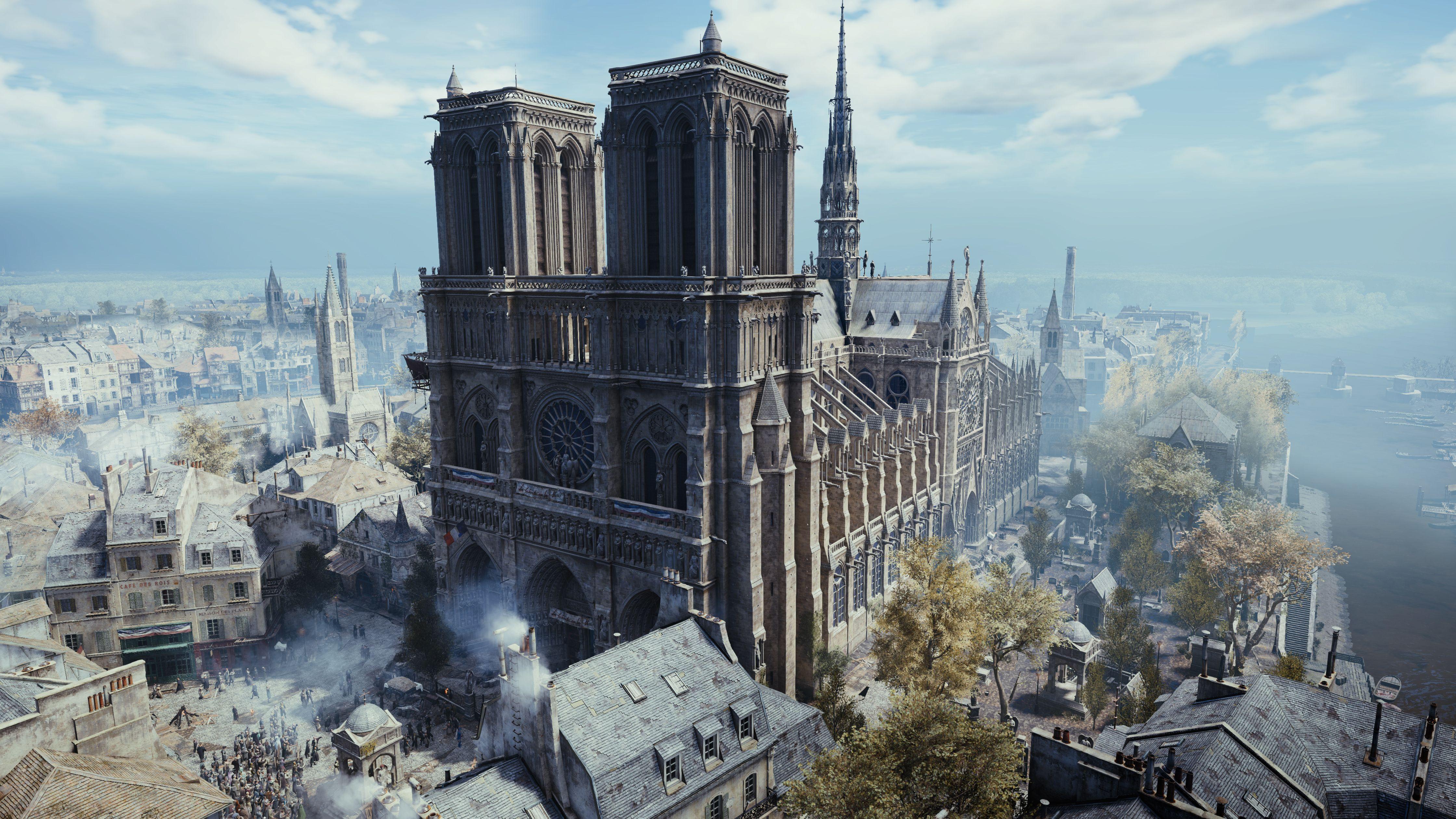 'Assassins Creed Unity' está gratuito como homenagem à Notre-Dame