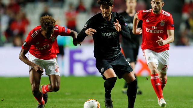 """Eintracht-Benfica: """"Jogo a jogo"""" e a um passo das meias-finais"""