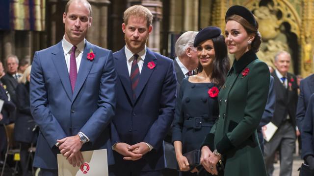 Há uma possibilidade de William perder o nascimento do filho de Harry