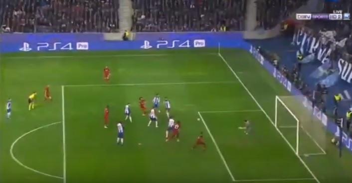 Sadio Mané 'gela' o Dragão no primeiro remate do Liverpool no jogo