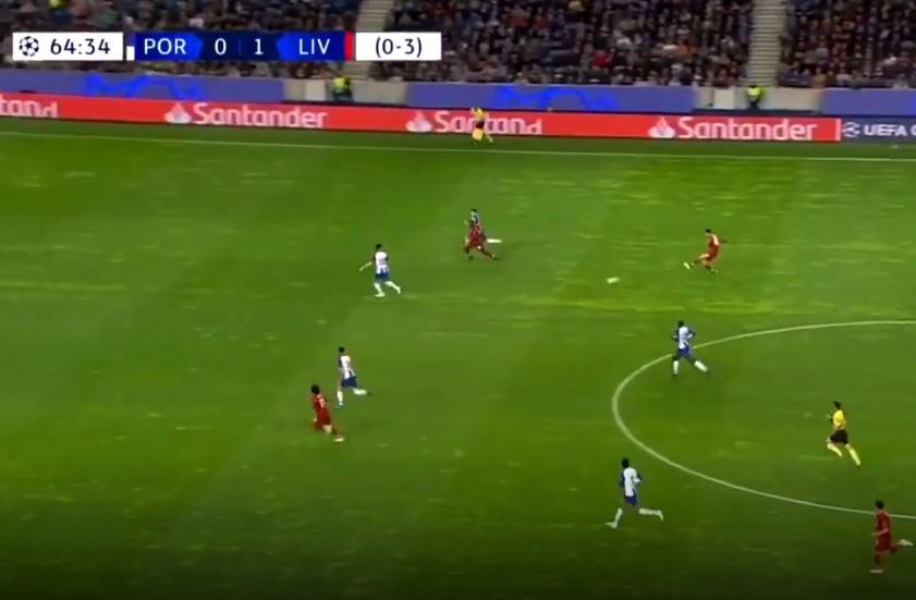 Salah faz o segundo do Liverpool no Dragão e 'mata' eliminatória