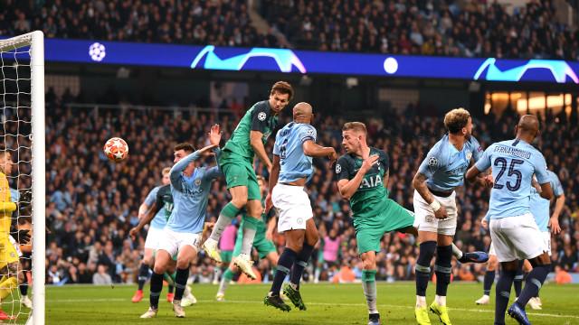 Tottenham afasta o Man. City e carimba passaporte em jogo épico
