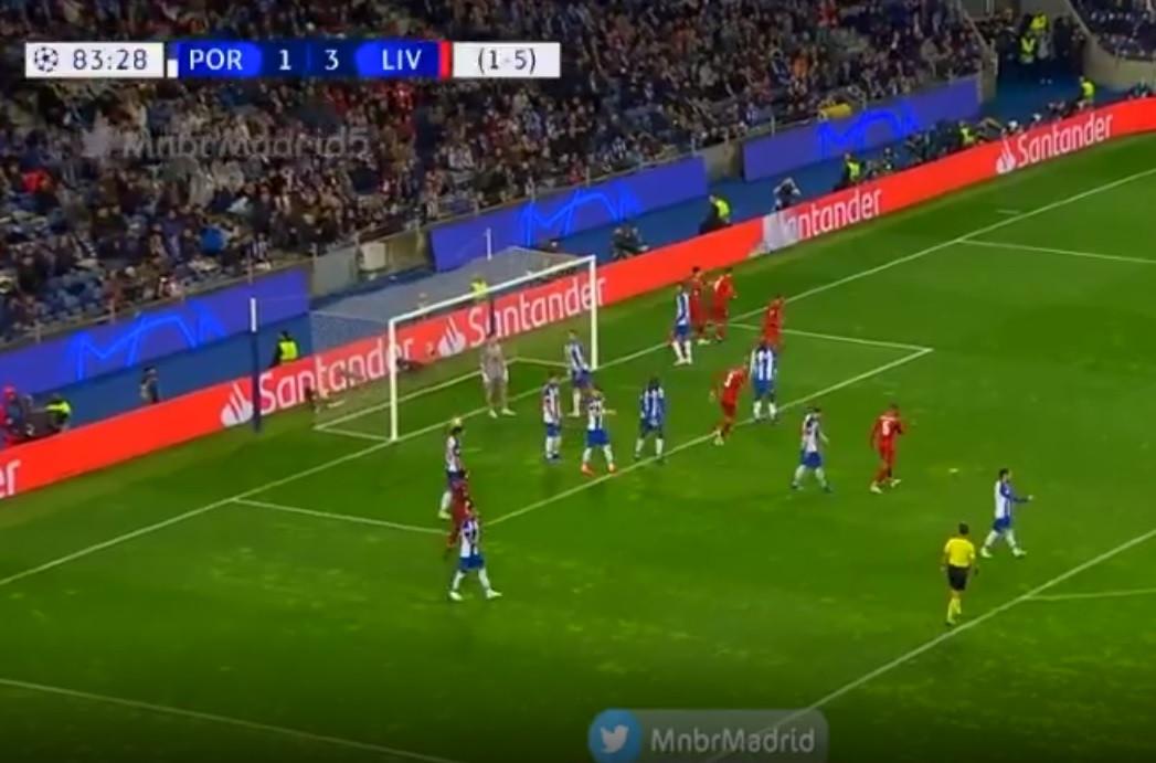 Van Dijk fechou assim a goleada do Liverpool no Dragão