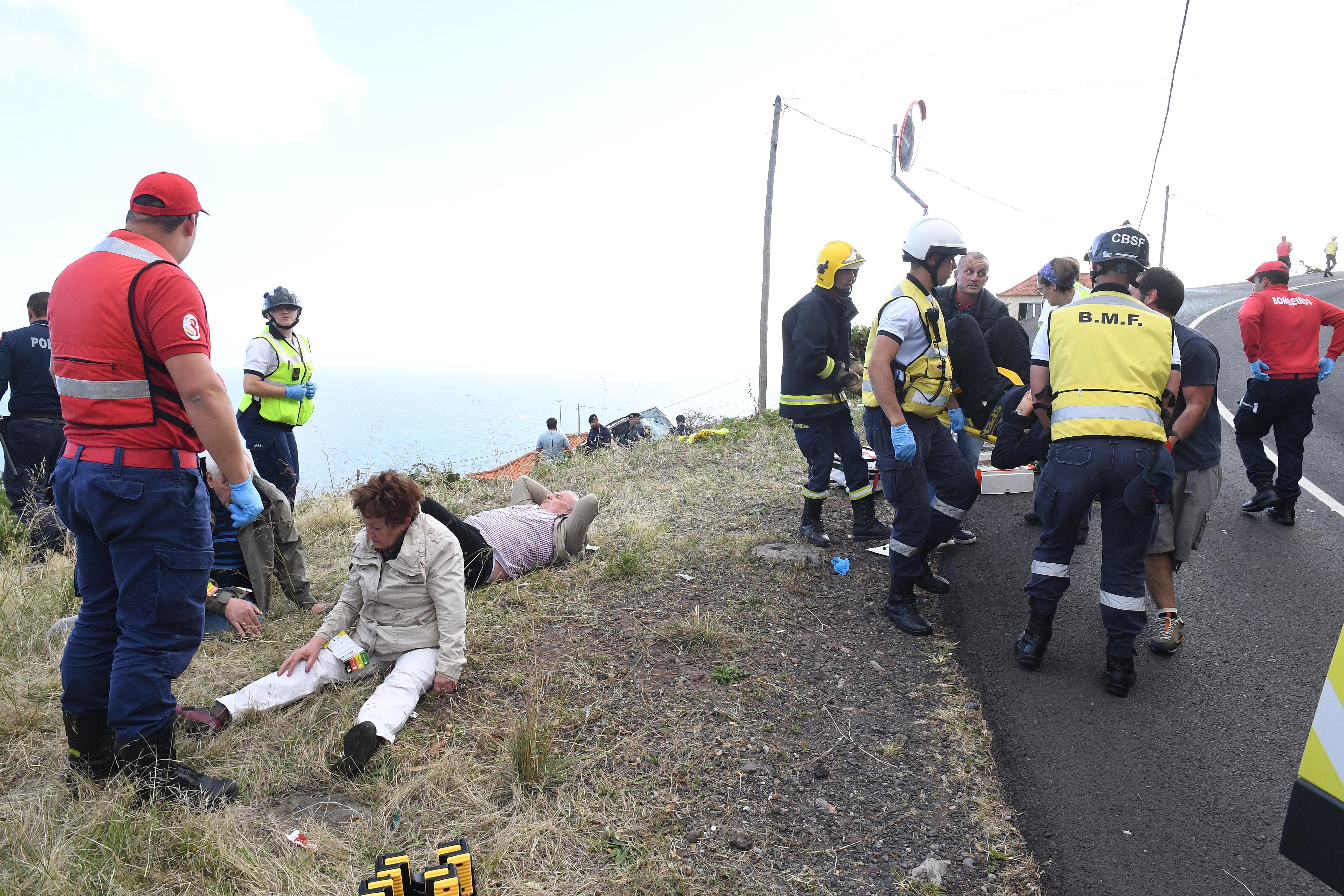 Madeira: Casal de turistas explica o que lhes poderá ter salvado a vida