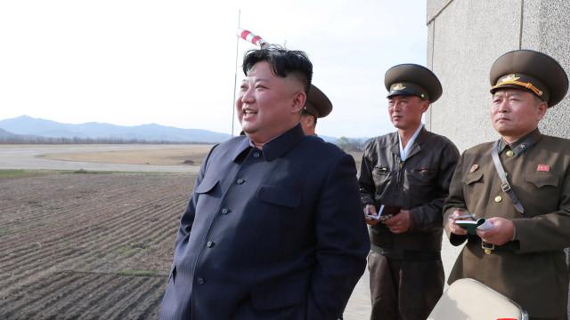 Coreia do Norte anuncia teste com nova arma táctica