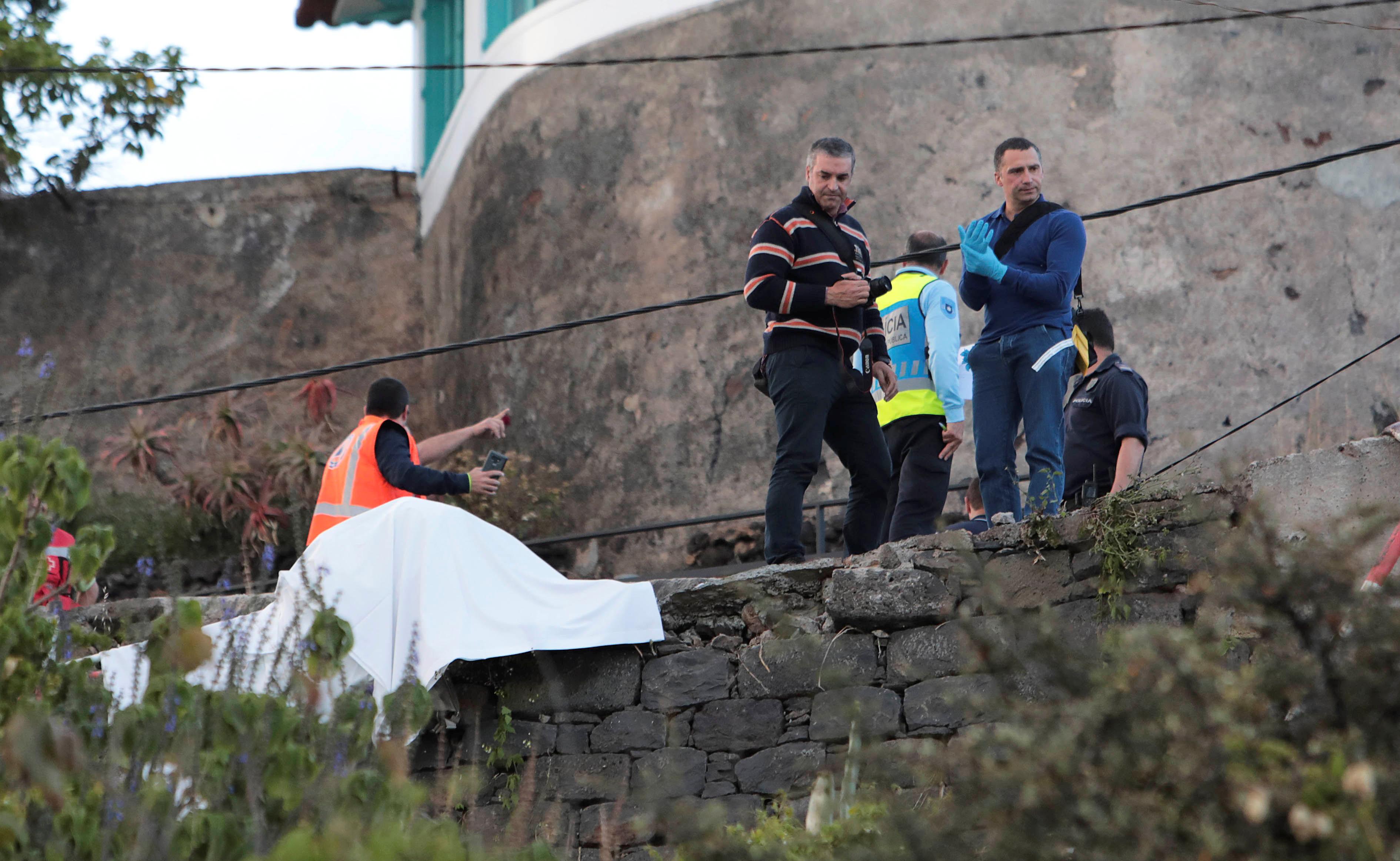 Despiste do autocarro na Madeira foi filmado. Eis as imagens