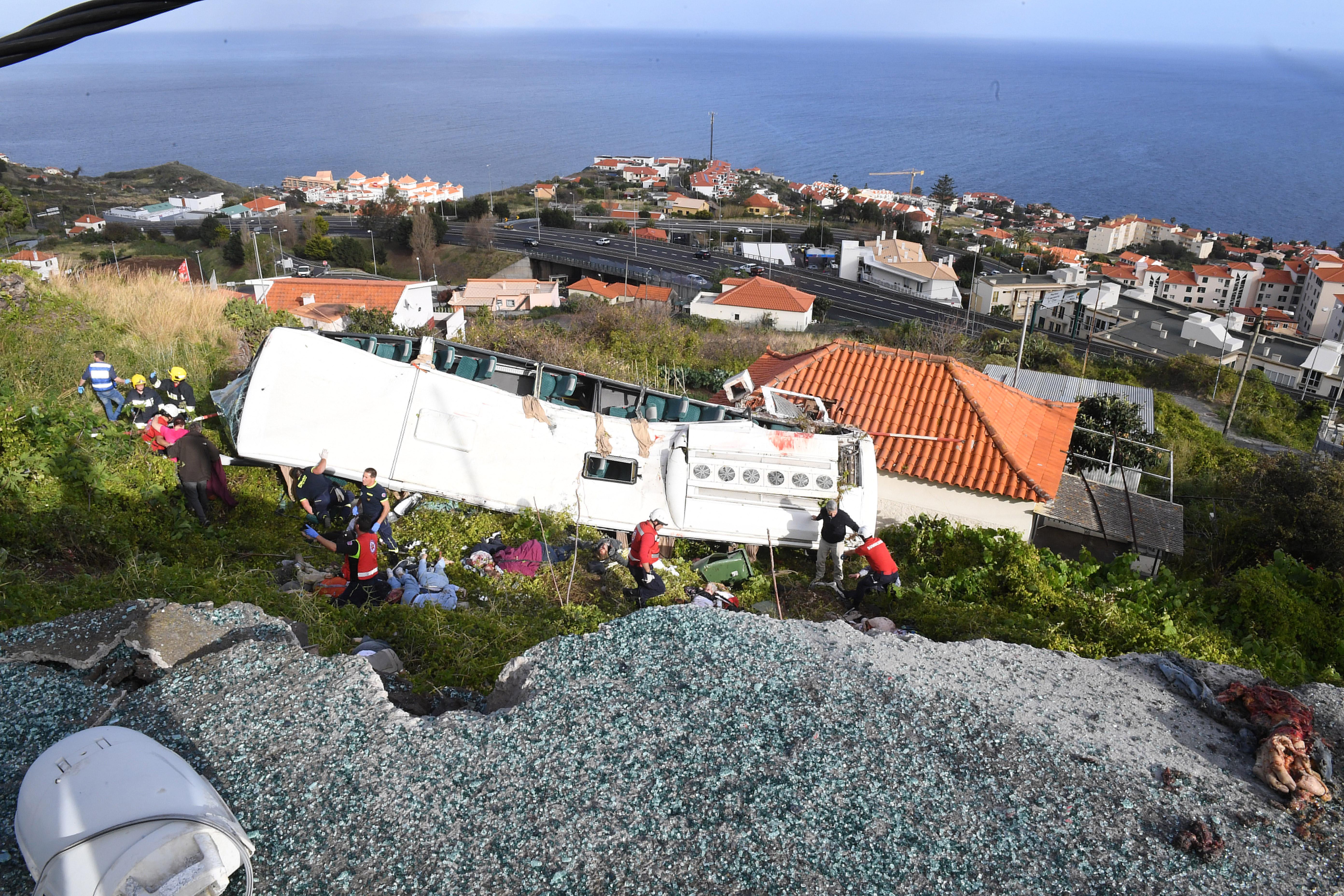 Tragédia na Madeira: Vítimas têm entre 40 e 60 anos
