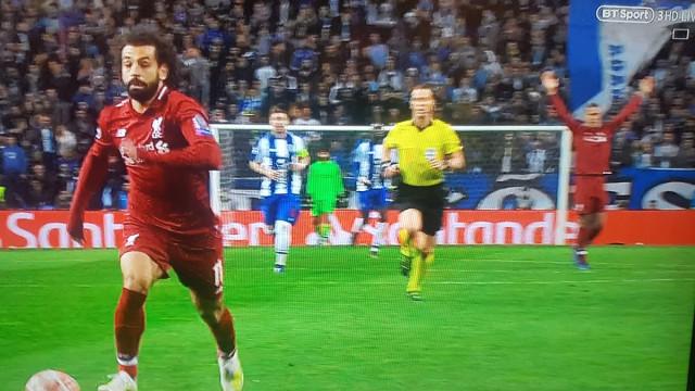 O curioso pormenor no golo de Salah que poucos viram no Dragão